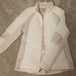Calia by carrie Underwood white puff jacket